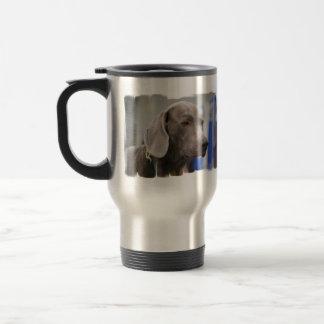 Cute Weimaraner Travel Mug