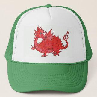 Cute Welsh Red Dragon Trucker Hat