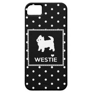 Cute West Highland Terrier - Westie Barely There iPhone 5 Case