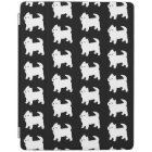 Cute West Highland Terrier - Westie Pattern iPad Cover