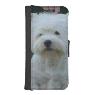 Cute West Highland White Terrier Phone Wallets