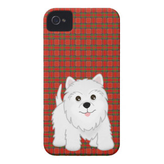 Cute West Highland White Terrier Puppy Dog iPhone 4 Cover