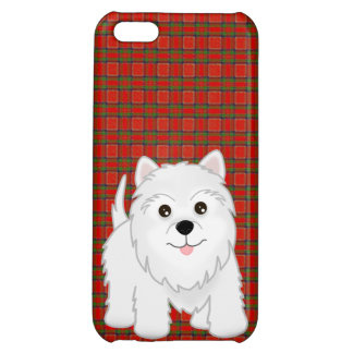 Cute West Highland White Terrier Puppy Dog Case For iPhone 5C