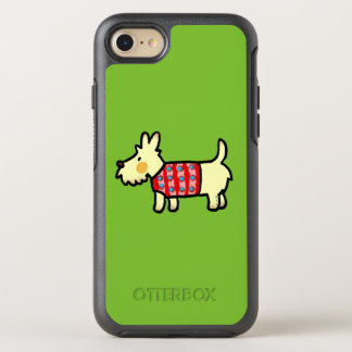 cute West Highland White Terrier puppy OtterBox Symmetry iPhone 7 Case