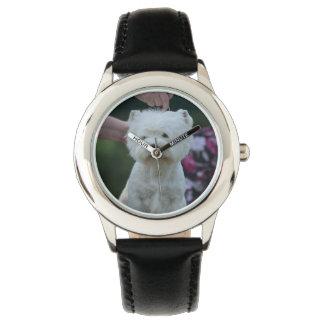 Cute West Highland White Terrier Watch