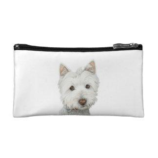 Cute Westie Dog Bagettes Bag