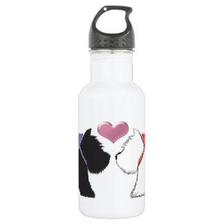 Cute Westie Dogs Art 532 Ml Water Bottle
