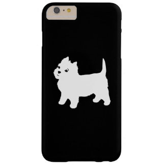 Cute Westie - West Highland White Terrier Barely There iPhone 6 Plus Case