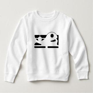 Cute whale Kid's Toddle sweatshirt HQH