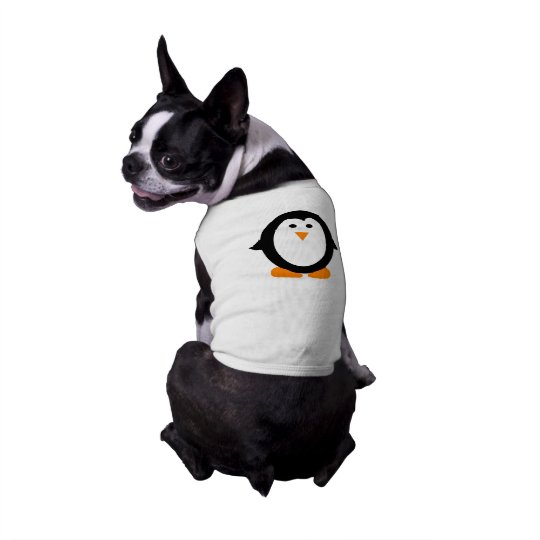 Cute Whimsical Penguin Shirt for Dogs