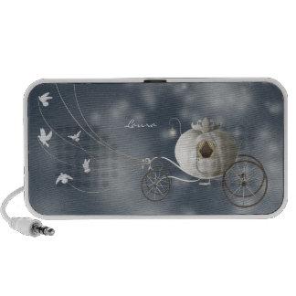 Cute Whimsy Cinderella Story Mini Speakers