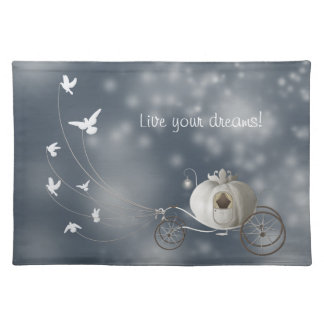 Cute, Whimsy Cinderella Story Place Mat