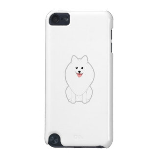 Cute White Dog. Spitz or Pomeranian. iPod Touch (5th Generation) Cover
