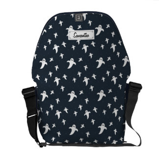 Cute white ghosts courier bags