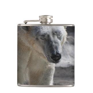 Cute White Polar Bear Flask