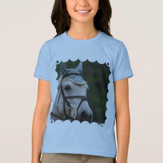 Cute White Pony Girl's T-Shirt