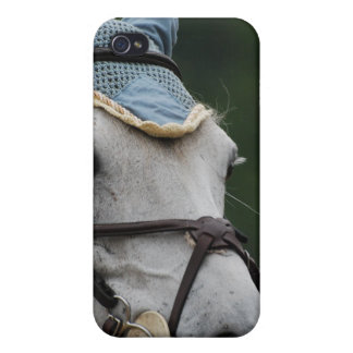 Cute White Pony iPhone 4 Case