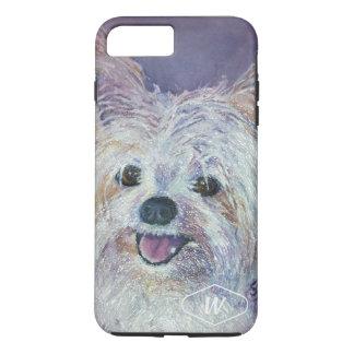 CUTE WHITE YORKIE MIX iPhone 8 PLUS/7 PLUS CASE