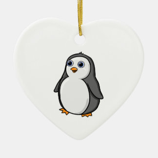 Cute Wide-Eyed Baby Penguin Ornaments