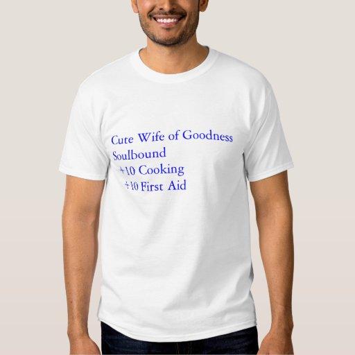 Cute Wife of Goodness +20 Tee Shirt