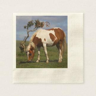 Cute Wild Pony on Dartmoor Paper Napkins