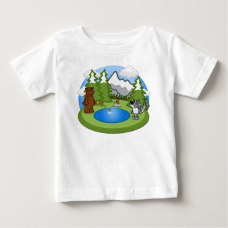 Cute Wildlife Baby Tee