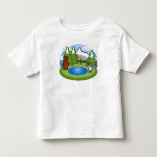 Cute Wildlife Toddler Tee