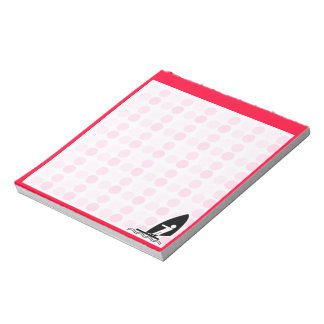 Cute Windsurfing Notepad