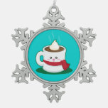 Cute Winter Hot Chocolate Ornaments