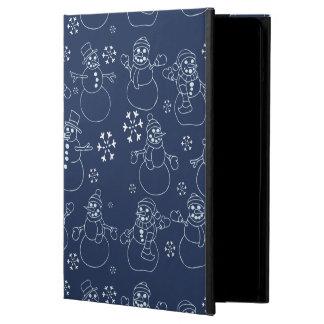 Cute winter snowmen case for iPad air