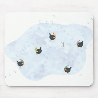 Cute Winter Xmas Mousepad