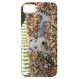 Cute Wired Fox Terrier Barely There iPhone 5 Case