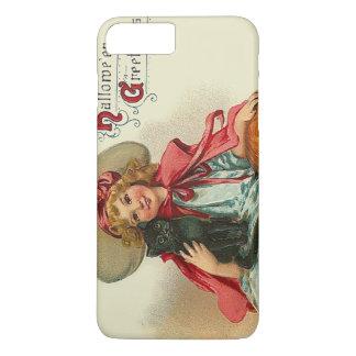 Cute Witch Girl Black Cat Pumpkin iPhone 7 Plus Case