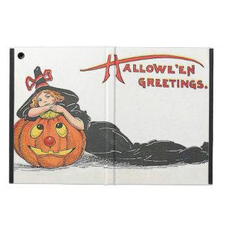 Cute Witch Jack O' Lantern Pumpkin iPad Air Covers