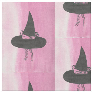 Cute Witch's Hat Fabric