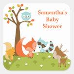 Cute Woodland Animal Stickers Sticker