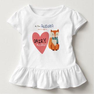 Cute Woodland Winter Animal Fox Kid Allergy Toddler T-Shirt