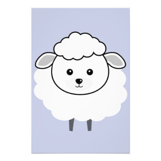 Cute Wooly Lamb Face Photo