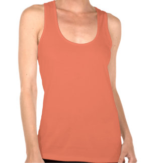 Cute Workout Run Wild Fitted Racerback Tank