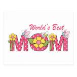 CUTE World's Best Mum! Postcard