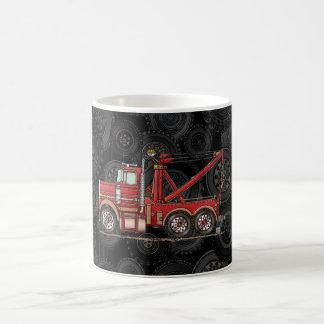 Cute Wrecker Truck Basic White Mug