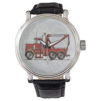 Cute Wrecker Truck Watch