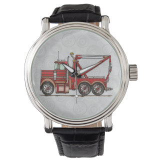 Cute Wrecker Truck Watches