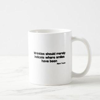 Cute, Wrinkles quote Mugs