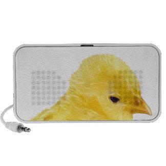 Cute yellow baby Chick Mini Speaker