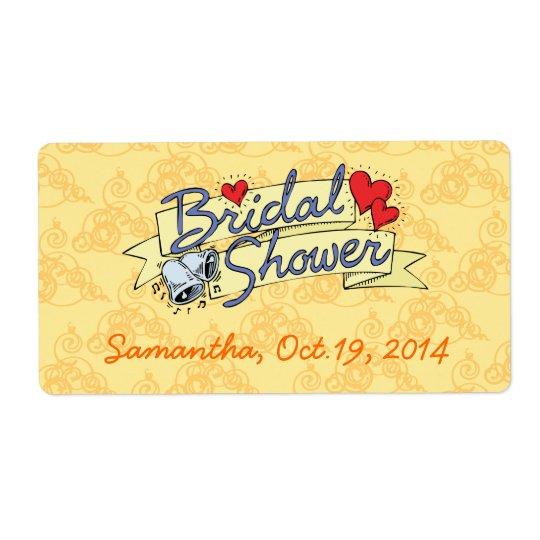 Cute Yellow Bridal Shower