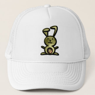 Cute Yellow Bunny Trucker Hat
