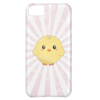 Cute yellow chick iPhone 5C case