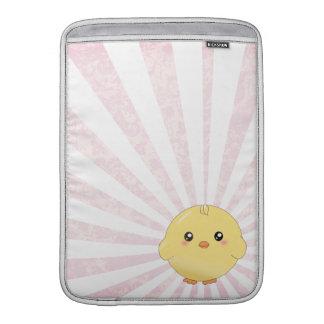 Cute yellow chick MacBook sleeve