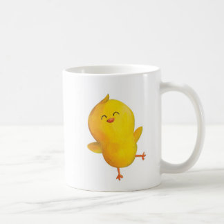 Cute Yellow Chicken Coffee Mug
